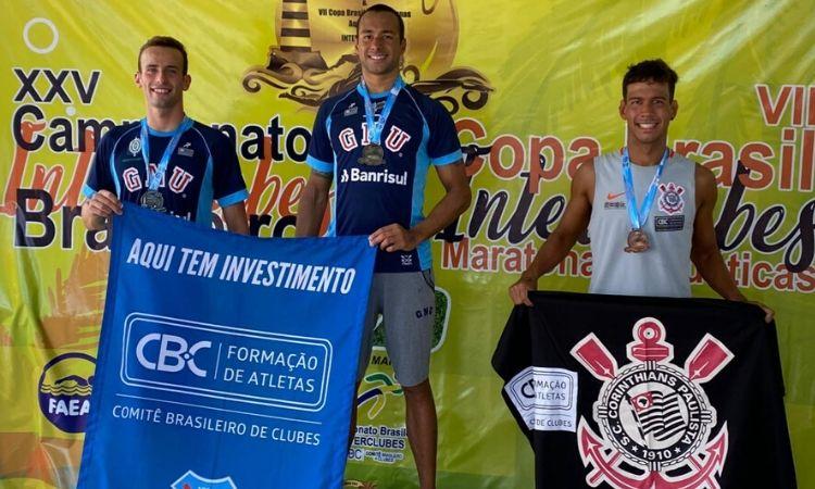 Atletas militares vencem primeira etapa do Campeonato Brasileiro de Maratonas Aquáticas