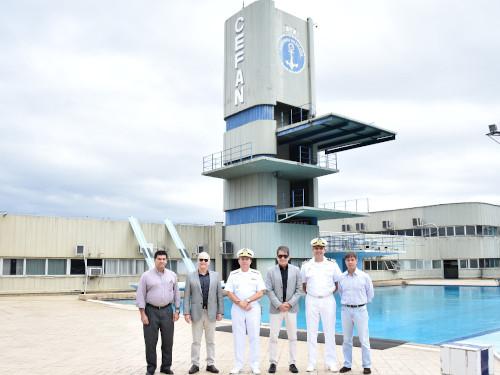 CEFAN recebe visita do Presidente do Comitê Olímpico do Brasil