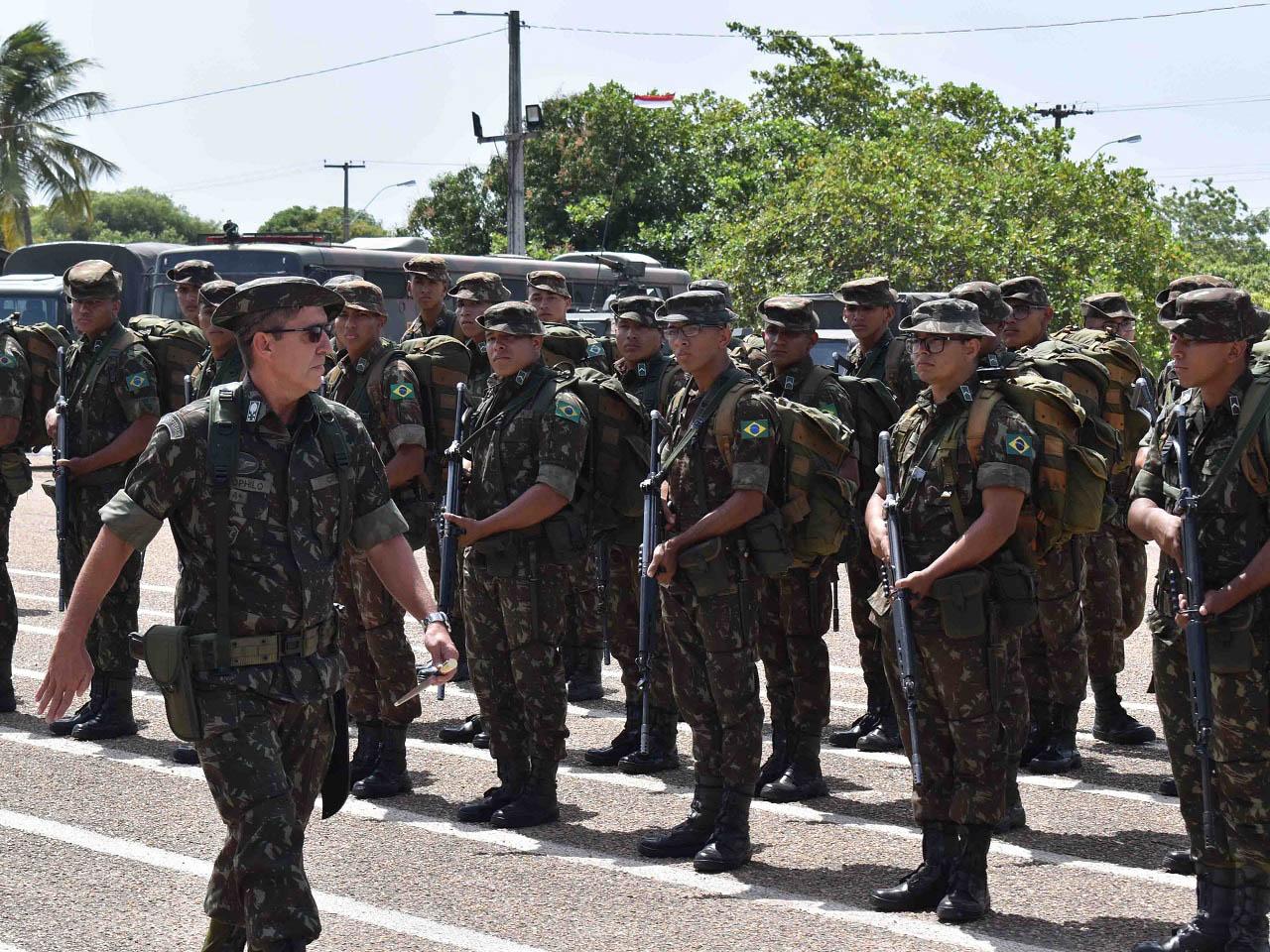 Recepção ao Comandante Militar da Amazônia em Boa Vista (RR)