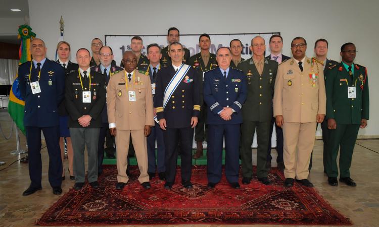 Cerimônia marca abertura da reunião do Corpo de Diretores do Conselho Internacional do Desporto Militar