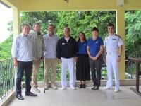 Comandante da Marinha visita Instituto