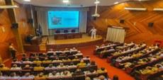 Comandante da Marinha realiza conferência para o CSD