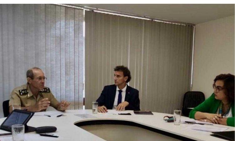 Departamento de Desporto Militar inicia tratativas sobre o centenário da primeira participação olímpica brasileira