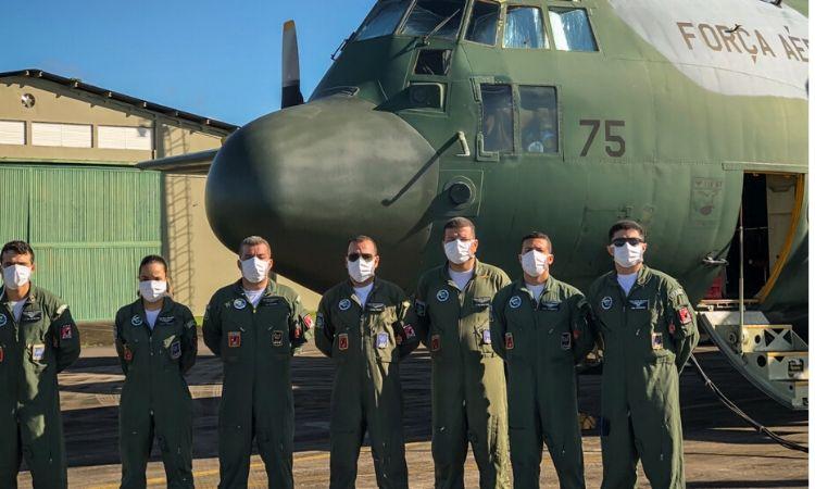 Força Aérea Brasileira atua na Operação Covid-19 no resgate de brasileiros que estão no Peru