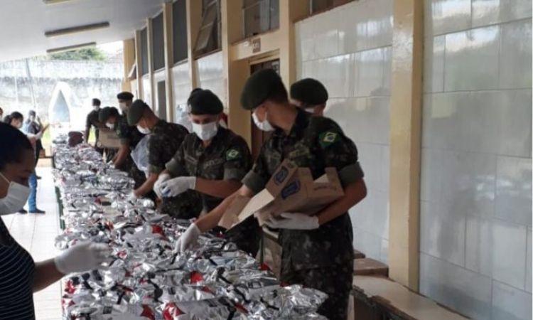 Forças Armadas seguem no combate ao Coronavírus e no apoio à população em quarentena