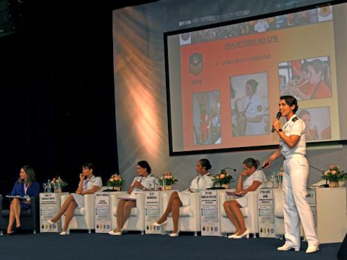 """Marinha do Brasil realiza o Seminário """"Mulheres, Paz e Segurança"""""""