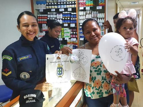 Marinha leva serviços de saúde e cidadania para população de Porto de Moz-PA