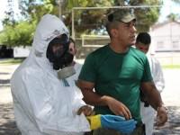 Militares realizam treinamento em Defesa Nuclear