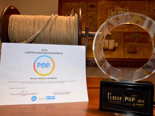 Museu Náutico da Bahia recebe prêmio por destaque como atrativo turístico de salvador