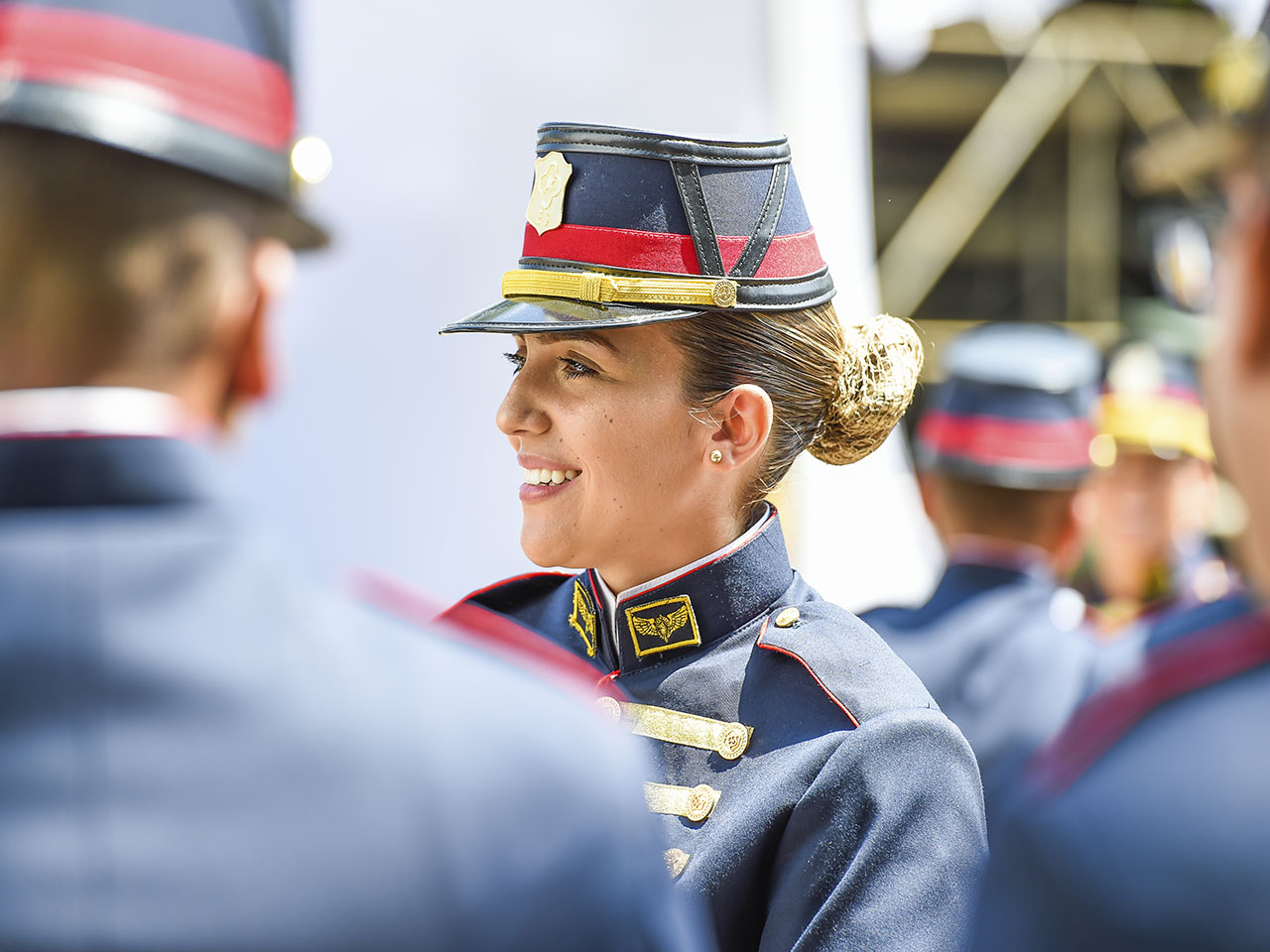 Cerimônia de entrada pelo Portão das Armas da ESA e recebimento do Sabre Sargento Max Wolf Filho