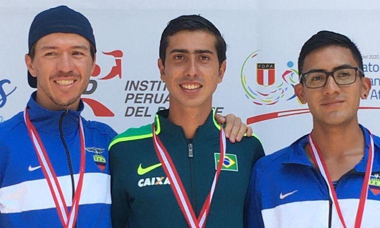 Sargento Caio Bonfim é campeão Sul-Americano de Marcha Atlética