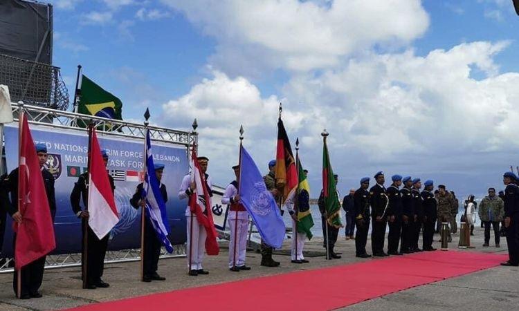 UNIFIL tem novo Comandante da Força-Tarefa Marítima
