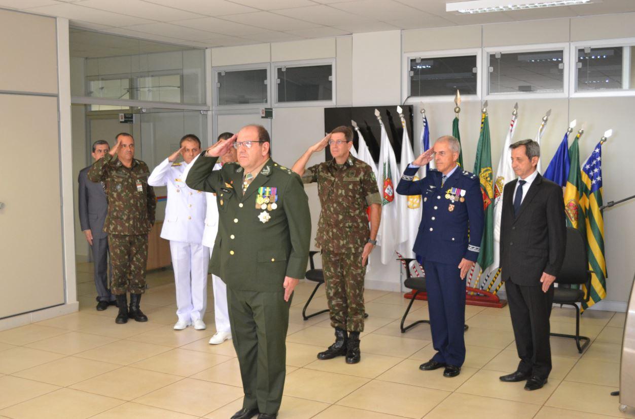 Passagem de chefias no Comando de Defesa Cibernética