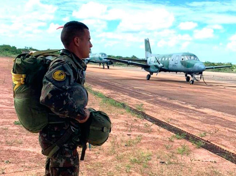 Missão de apoio ao Esquadrão Rumba (1º/5º GAV)