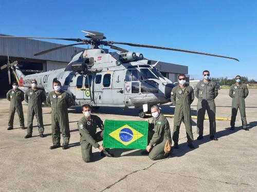 2º Esquadrão de Helicópteros de Emprego Geral retorna ao Complexo Aeronaval após 53 dias em missões