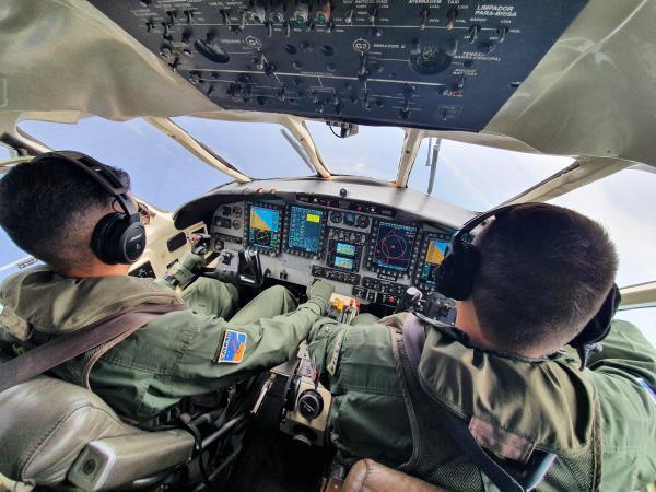 Esquadrão Rumba inicia Curso de Especialização da Aviação de Transporte