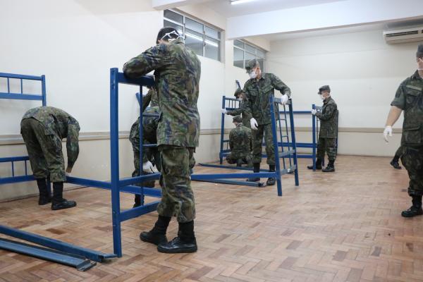FAB cede 78 camas para hospitais adaptados em Canoas (RS)