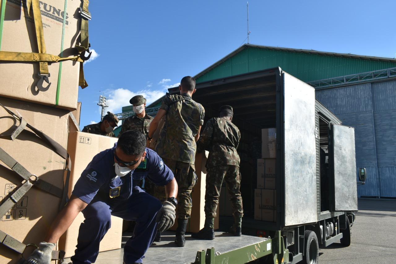 Forças Armadas continuam ações de enfrentamento ao Coronavírus