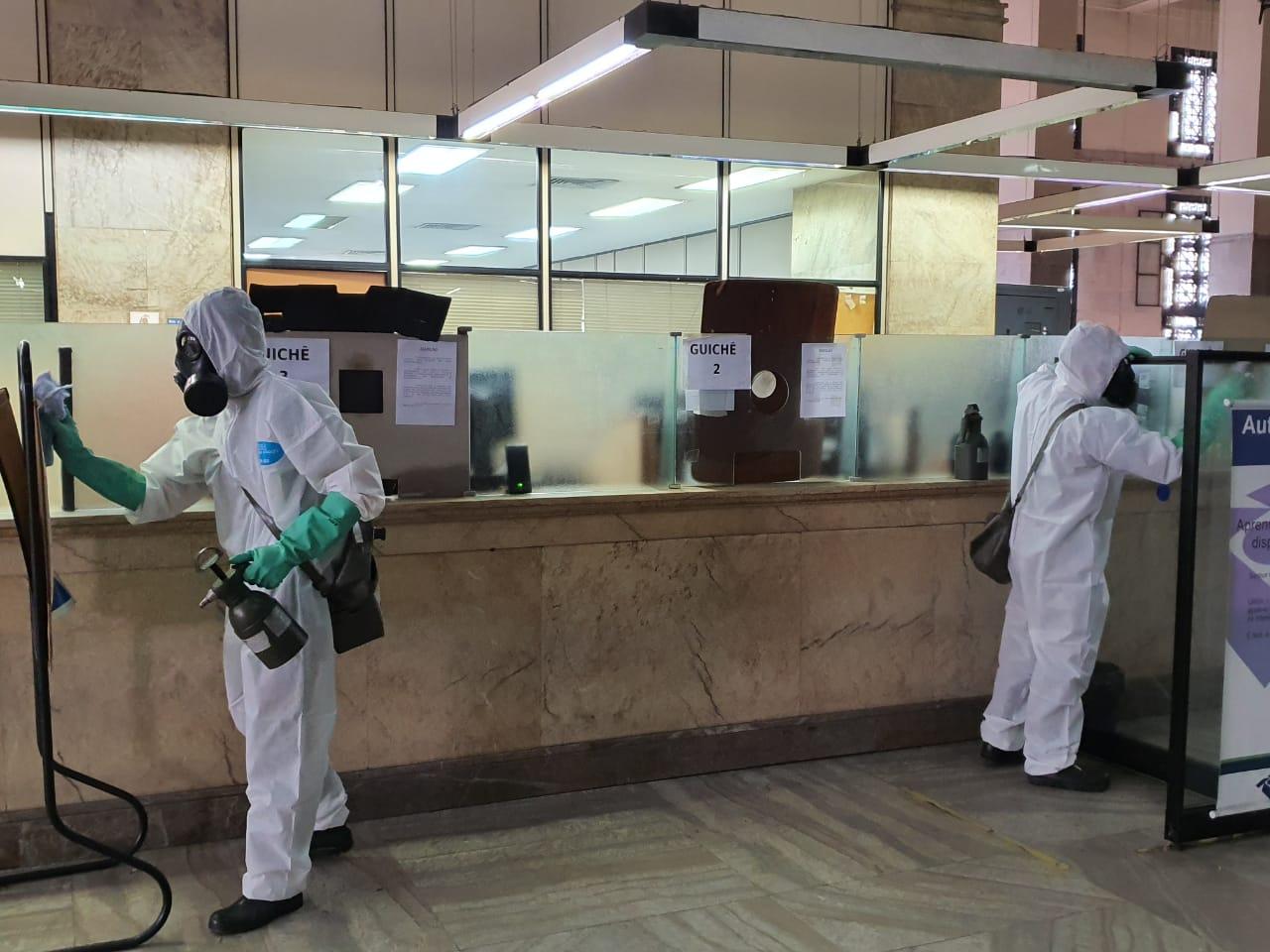Forças Armadas capacitam profissionais para realizar desinfecção de locais públicos