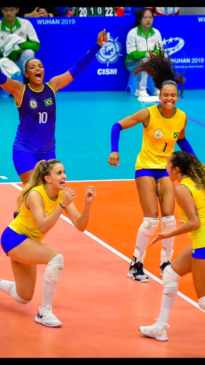 Militar atleta brasileira é eleita a melhor do ano pelo Conselho Internacional do Esporte Militar