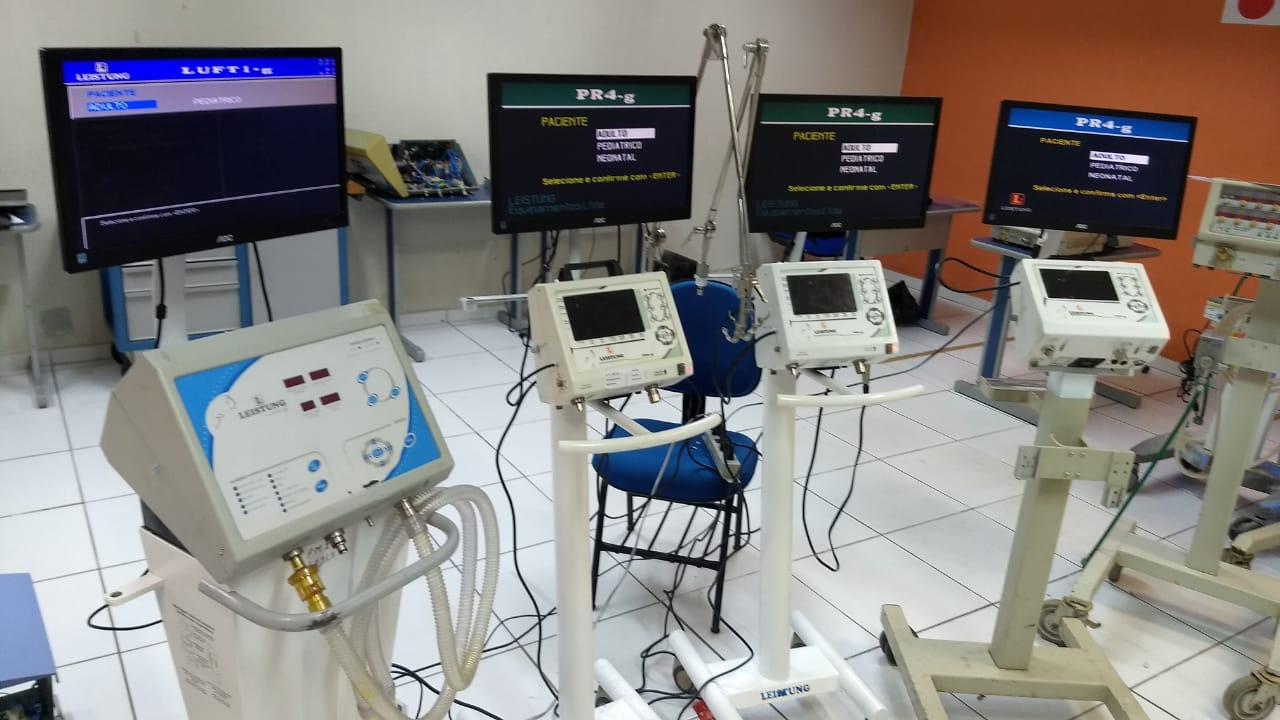 Operação envolvendo Ministério da Defesa, CNI e montadoras recupera 201 respiradores