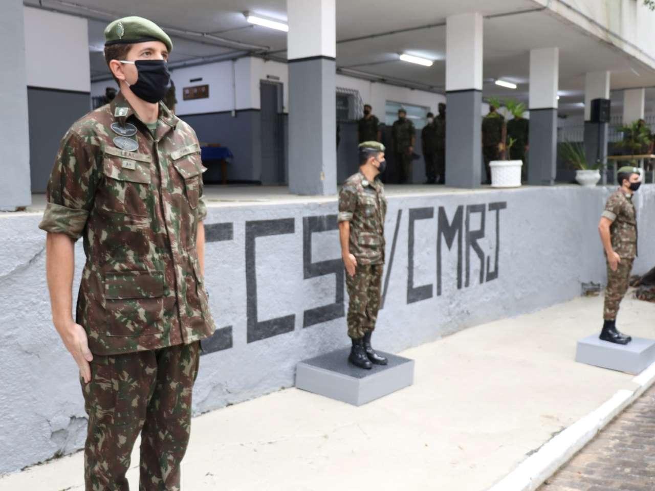 Passagem de Comando da Companhia de Comando e Serviço