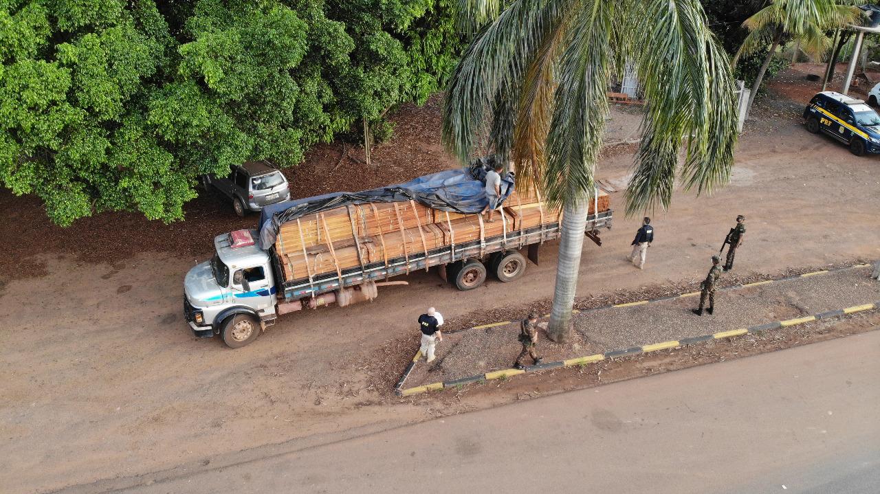 Ações deflagradas na Amazônia Legal apreendem madeira e drogas