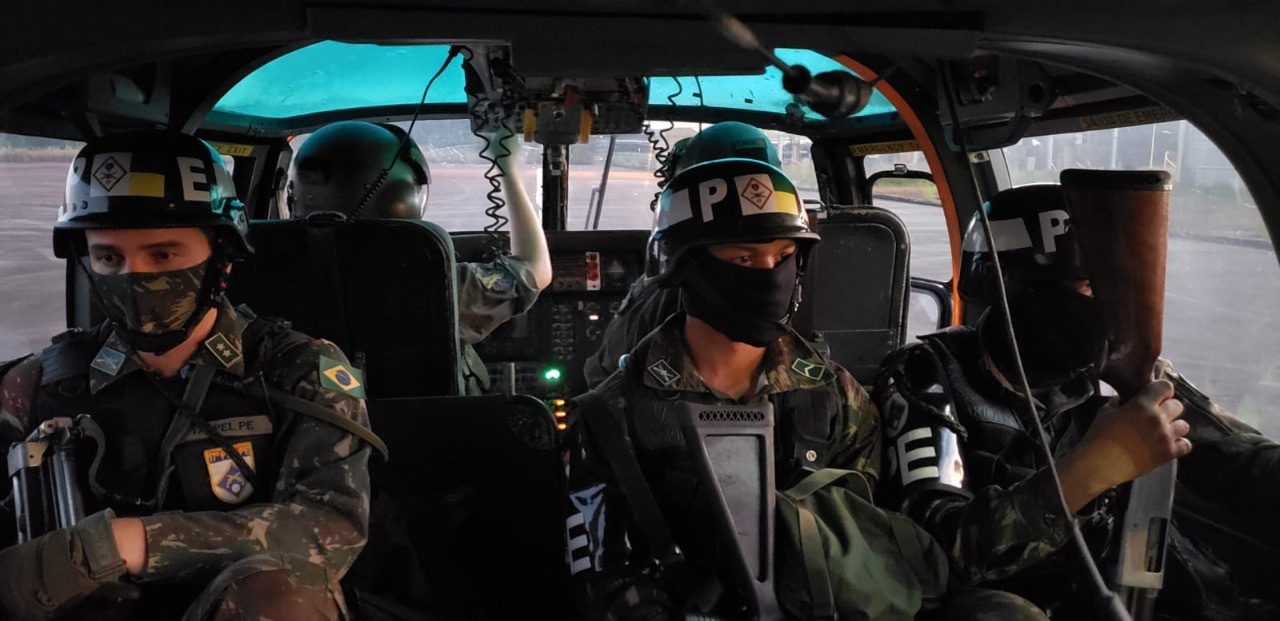 Ações da Operação Verde Brasil 2 têm medidas de segurança contra a COVID-19