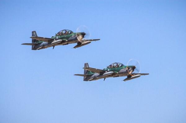 FAB intercepta avião em voo irregular sobre o estado do Amazonas