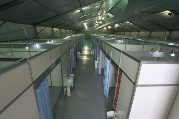 Hospital de Campanha do Guarujá é inaugurado na Base Aérea de Santos (BAST)