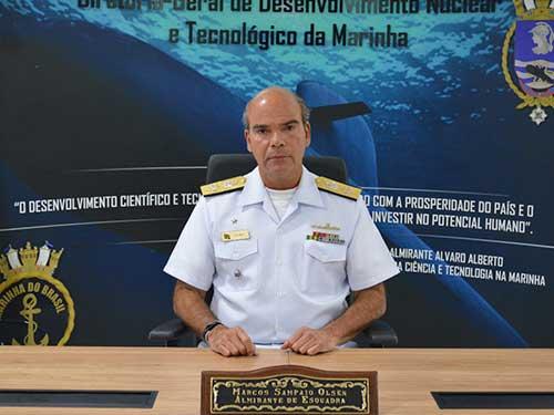 Marinha assume presidência de conselho da Associação Brasileira para o Desenvolvimento de Atividades Nucleares