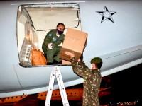 Militares transportam 10 mil