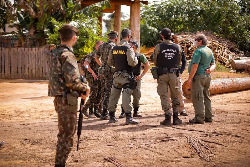 Militares já atuam em três Estados pela Operação Verde Brasil 2