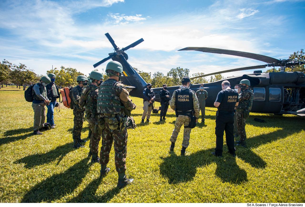 Militares da Força Nacional reforçam atuação para reprimir delitos ambientais na Amazônia Legal