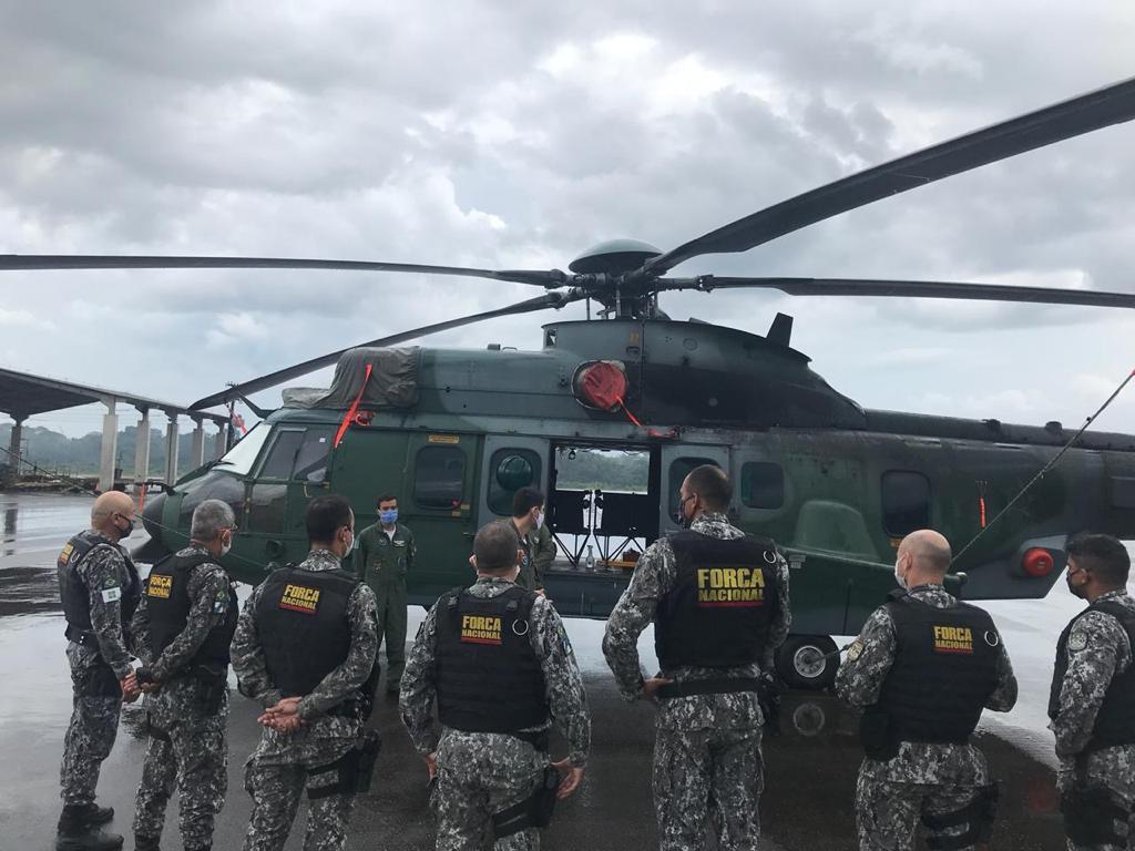 No Pará, militares e agentes reprimem delitos ambientais durante a madrugada