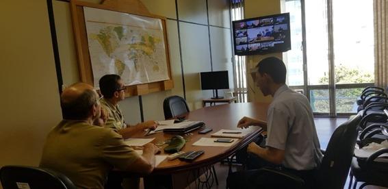 Reunião por videoconferência promove interação do ensino das Forças Armadas e da Escola Superior de Guerra
