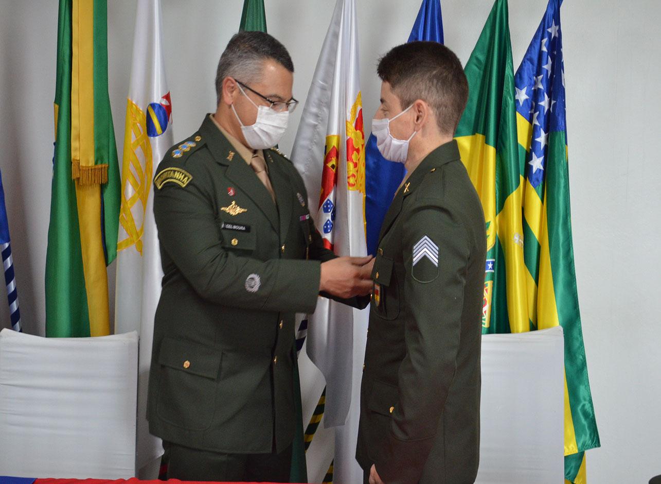 Cerimônia de Encerramento do Curso de Aperfeiçoamento de Sargentos (CAS) 1º turno