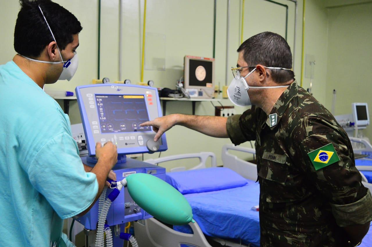Unidades de saúde militares oferecem curso indispensável no combate ao novo coronavírus