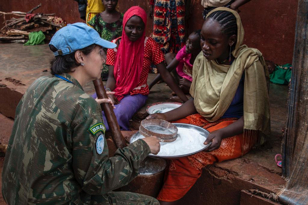 Atuação de militar brasileira em operação de paz é homenageada pela ONU