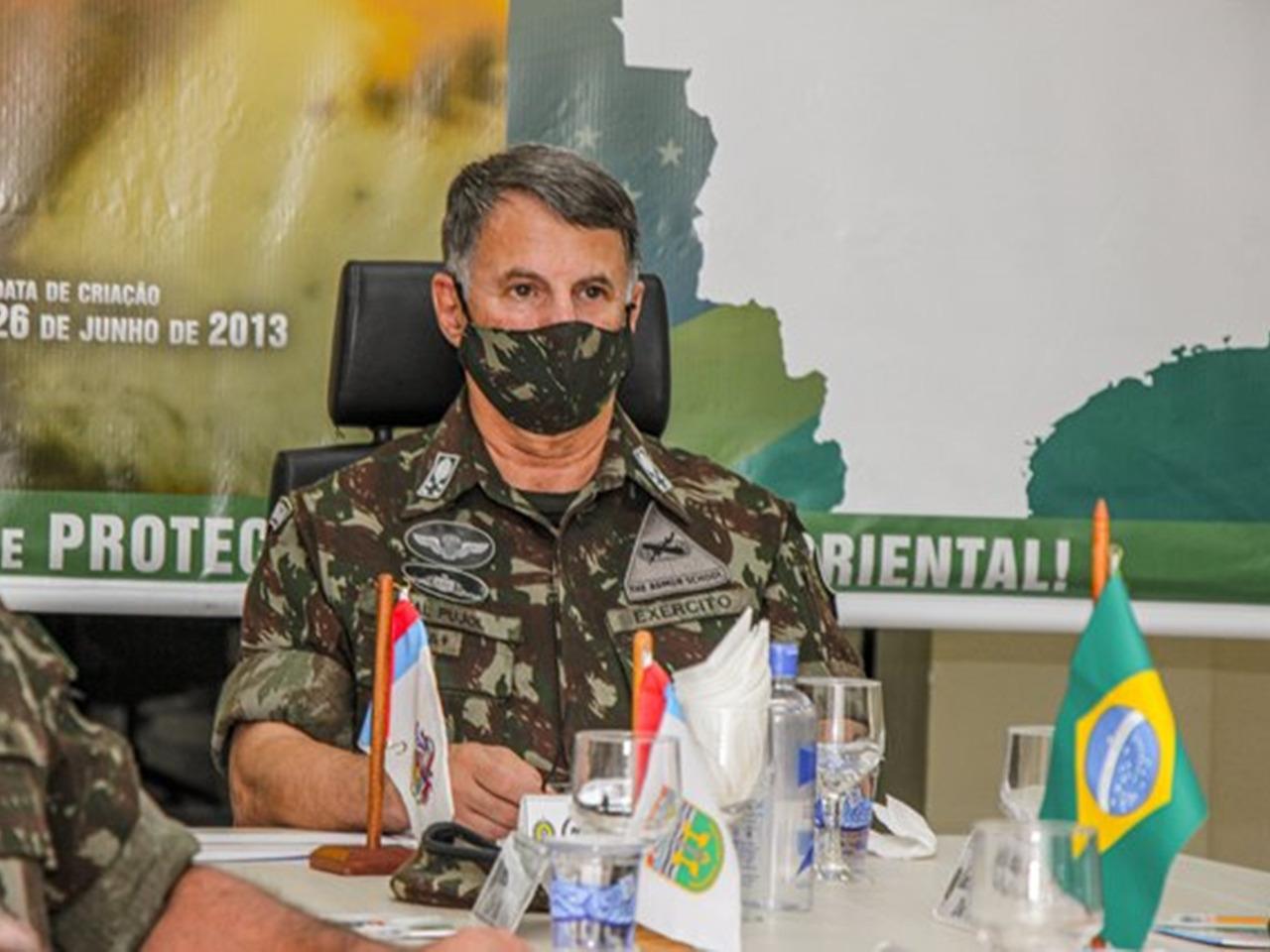 Em Belém (PA), ações do Comando Militar do Norte são apresentadas ao Comandante do Exército Brasileiro