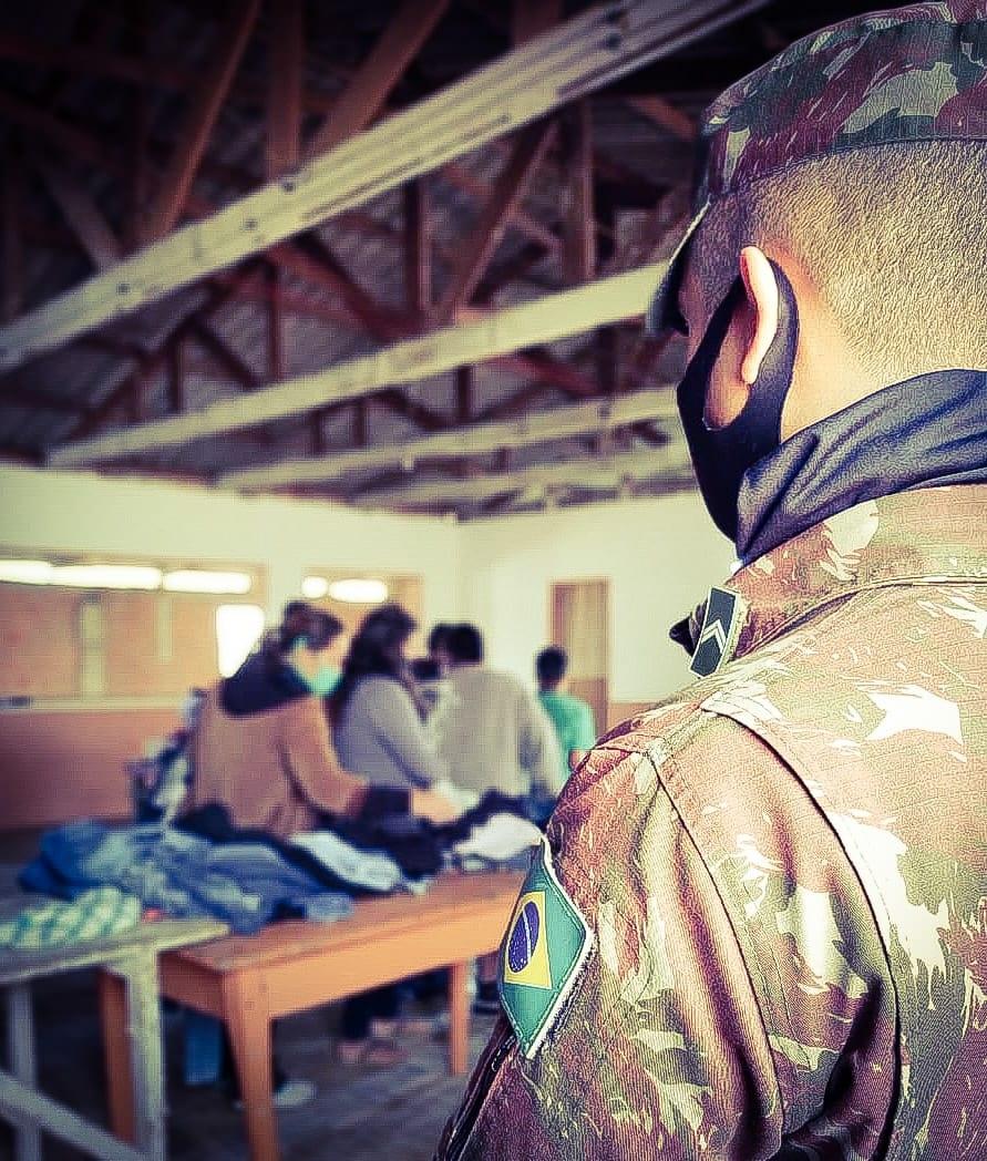 Campanhas de doação também fazem parte das ações da Operação Covid-19