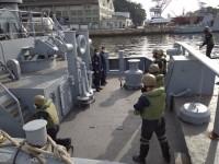Comando do Grupamento de Patrulha Naval do Sudeste realiza