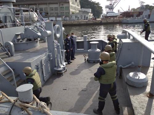 Comando do Grupamento de Patrulha Naval do Sudeste realiza duas edições do Estágio Básico de Abordagem