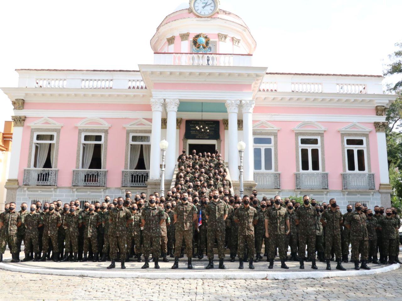 Colégio Militar do Rio de Janeiro entrega a Boina aos recrutas incorporados em 2020