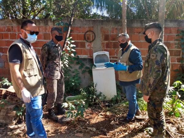 FAB realiza ações de combate à dengue no Distrito Federal