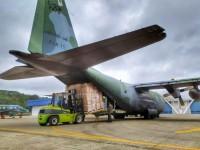 FAB transporta materiais para Hospital de Campanha de Boa Vista (RR)