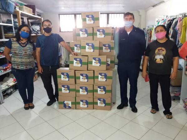 ILA e a BASP realizam campanha de arrecadação de alimentos para doação