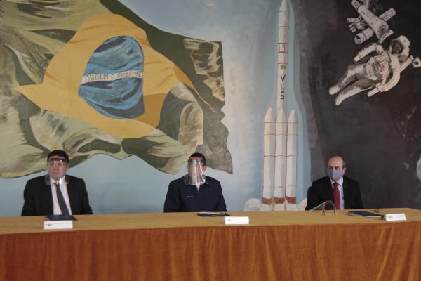 ITA assina convênio com a Funcate para apoio às iniciativas de combate à COVID-19