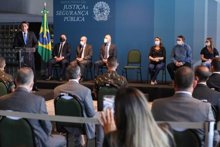 Ministério da Justiça e Segurança Pública inaugura Galeria de Heróis do programa VIGIA