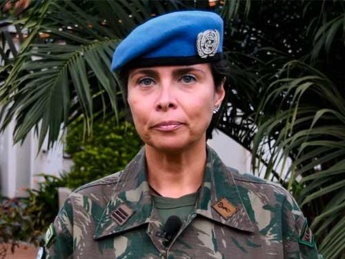 Oficial da Marinha recebe prêmio da Organização das Nações Unidas